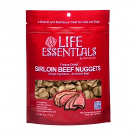 Cat-Man-Doo Life Essentials Freeze Dried Sirloin Beef Nuggets凍乾脫水沙朗牛肉粒3oz