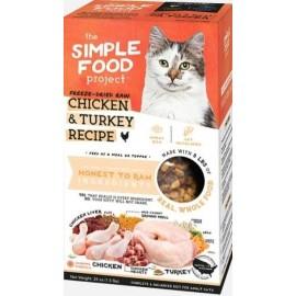 Simple Food Project 維簡凍乾脫水(雞+火雞)配方貓糧 1.5lbs