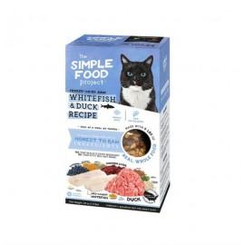 Simple Food Project 維簡凍乾脫水(白魚 + 鴨)配方貓糧 1.5lbs