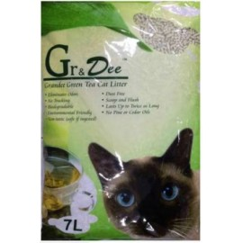 GranDee 天然豆腐貓砂(綠茶味)7L