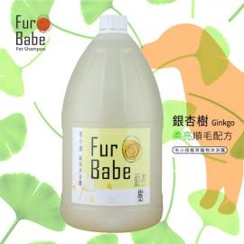 Furbabe 毛小孩寵物沐浴露 銀杏樹1gal( 柔順亮毛配方)