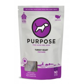 Purpose火雞心臟凍乾生肉小食3oz(狗適用)
