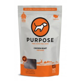 Purpose雞心凍乾生肉小食3oz(狗適用)