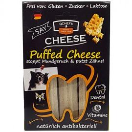 QChefs Puffed Cheese 重量芝士(鬆化)潔齒條 72g