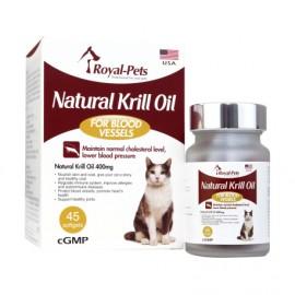 Royal Pets 天然磷蝦油丸 (貓) - 45 粒