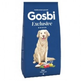 Gosbi 中型成犬純魚肉蔬果配方12kg