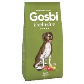 Gosbi 中型成犬純羊肉蔬果配方12kg