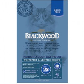 BLACKWOOD Cat GF Indoor Whitefish成貓室內(白鮭魚+扁豆)配方13lbs