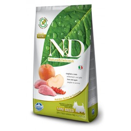 Farmina N&D Grain Free Canine - Boar & Apple 天然無穀物糧全犬配方-豬肉蘋果7kg
