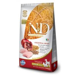 Farmina N&D Low Grain Canine - Chicken & Pomegran  純雞肉 + 石榴 老犬配方 2.5kg
