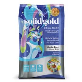 Solid Gold Feline Adult Grain Free (Fish) 素力高無穀物(成貓)鱈魚低卡乾貓糧12lbs
