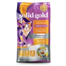 Solid Gold Feline Grain Free 素力高無穀物(室內雞肉)乾貓糧6lbs