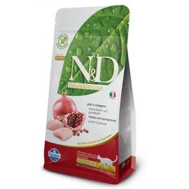 Farmina N&D Chicken & Pomegranate Neutered Cat Food 純雞肉 + 石榴 絶育貓配方 1.5kg