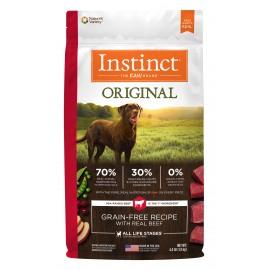 Instinct Canine - Oringinal Grain-Free Beef 本能無穀物牛肉犬用糧 20lbs