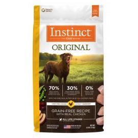 Instinct Canine - Oringinal Grain-Free Chicken 本能無穀物雞肉犬用糧 22.5lbs