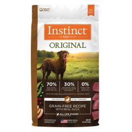 Instinct Canine - Oringinal Grain-Free Duck 本能無穀物鴨肉犬用糧 20lbs
