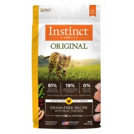 Instinct Feline - Oringinal Grain-Free Chicken 本能無穀物雞肉貓用糧 11lbs