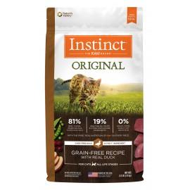Instinct Feline - Oringinal Grain-Free Duck 本能無穀物鴨肉貓用糧 10lbs