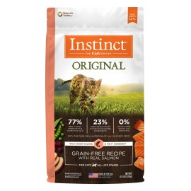 Instinct Feline - Oringinal Grain-Free Salmon 本能無穀物三文魚貓用糧 10lbs