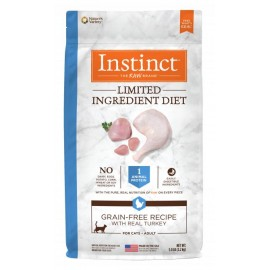 Instinct Feline - Limited Ingredient Grain-Free Turkey 本能單一蛋白火雞貓用糧 11lbs