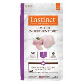 Instinct Feline - Limited Ingredient Grain-Free Rabbit 本能單一蛋白兔肉貓用糧 10lbs