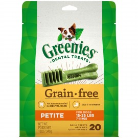 Greenies GF Petite 迷你犬無穀物潔齒骨12oz