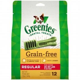 Greenies GF Regular 標準犬無穀物潔齒骨12oz