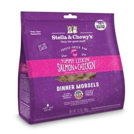 Stella & Chewy's 貓咪凍乾生肉主糧 Salmon&Chicken Dinner 舔舌之選(三文魚及雞肉配方)18oz