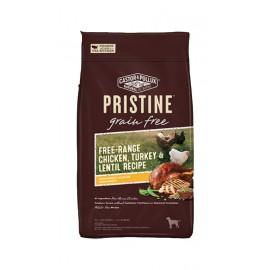 Natural Pristine 無穀物全犬糧 (放養雞,火雞,扁豆) Chicken & Turkey & Lentil 18lbs