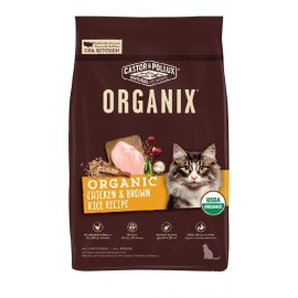 Natural Organix 穀物貓糧 (有機雞肉糙米) Organic Chicken & Brown Rice 10lbs