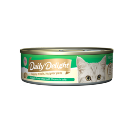 Daily Delight - 白鰹吞拿魚+芝士Skipjack Tuna White & Cheese 80g