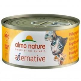 Almo Nature Cat - HFC Alternative - Grilled Chicken 烤雞肉罐頭70g