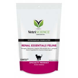 Vetri science Renal Essentials Feline貓隻腎臟補充咀嚼肉粒120粒