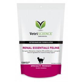 Vetri science Renal Essentials Feline貓隻腎臟補充咀嚼肉粒120粒