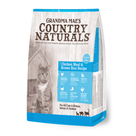 Country Naturals 鯡魚雞肉全貓配方12lbs