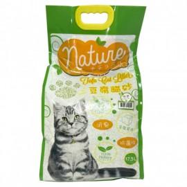 NATURE 豆腐貓砂-綠茶香味17.5L