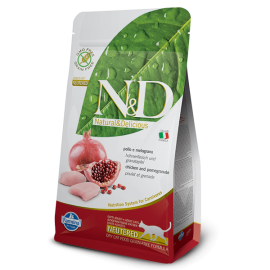Farmina N&D Grain Free Neutered Pomegranate and Chicken for Cats 無穀物石榴+雞成貓絕育糧5kg