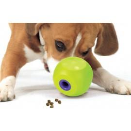 Buster Mini Cube-Lime 狗狗餵食迷你聰明骰 (小型犬)