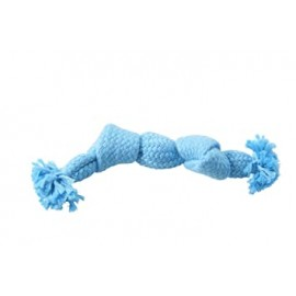 Buster Colour Squeak Rope-Small (淺藍23cm)