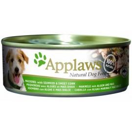 Applaws 天然狗罐頭 - 鯖魚 + 紫菜 + 甜玉米 156g