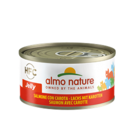 Almo Nature Cat-HFC JELLY-Salmon+Carrot 胡蘿蔔三文魚70g