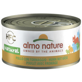 Almo Nature Cat-HFC-Chicken+Cheese 雞肉芝士70g