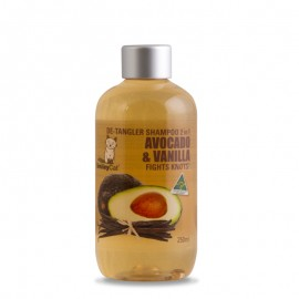 Smiley cat De-Tangler Shampoo avocado & vanilla 2合1牛油果香草去結洗毛液 250ml(貓用)