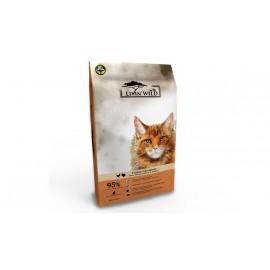 Livin's Wild 野宴天然貓糧系列-放養雞&放養火雞1.81kg