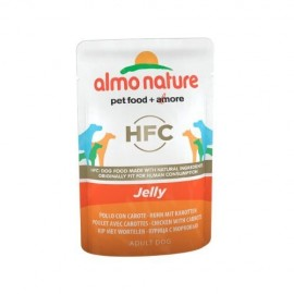 Almo Nature Dog Jelly chicken with carrots 雞肉紅蘿蔔啫喱 濕狗糧 70G