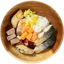 PetsFarm家常便飯系列: 狗 - D餐 (魚,豬肉) 75g  (最少買10件, 款式任配任搭)