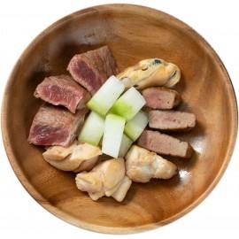 PetsFarm家常便飯系列: 貓 - A餐 (雞肉, 牛肉) 50g (最少買10件, 款式任配任搭)