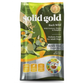 Solid Gold Canine Adult Grain Free (Venison) 素力高無穀物(成犬)(鹿肉)乾狗糧24lbs